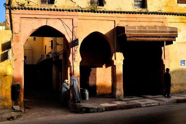 Meknès a UNESCO world heritage medina - © François Struzik - simply human 2009 - Morocco -
