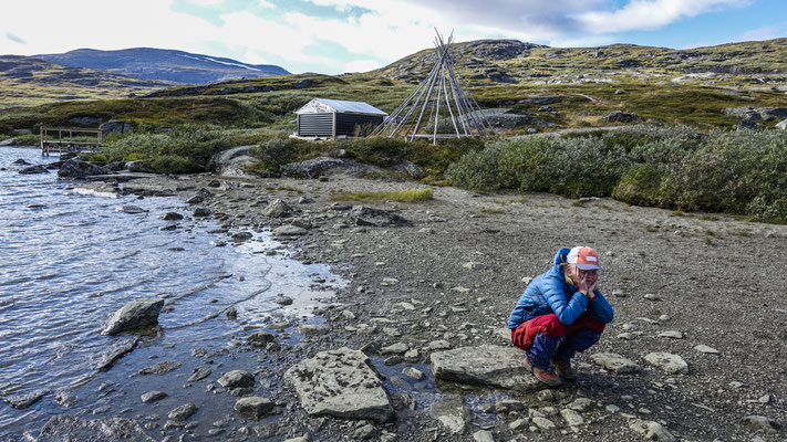 Kungsleden, Lapland, Sweden  © François Struzik - simply human 2018 - Alesjaure