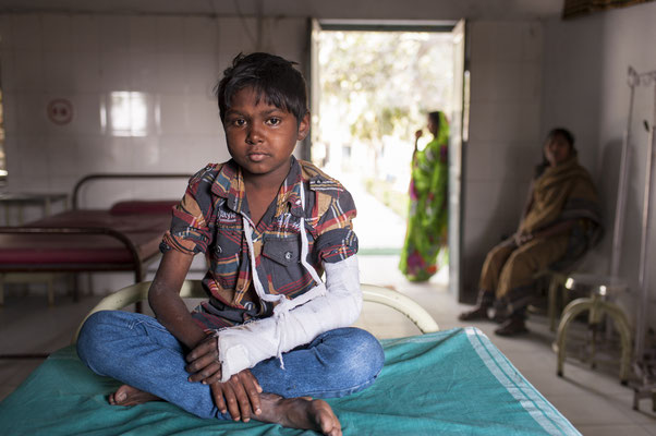 Dehri-on-Sone, leprosy control center, hospital, DFIT Action Damien, Damiaan Actie - Bihar, India © François Struzik - simply human 2016