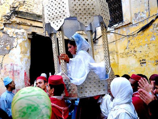 Meknès a UNESCO world heritage medina - © François Struzik - simply human 2009 - Morocco - a wedding