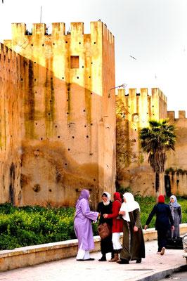 Meknès a UNESCO world heritage medina - © François Struzik - simply human 2009 - Morocco - Dar Kebira