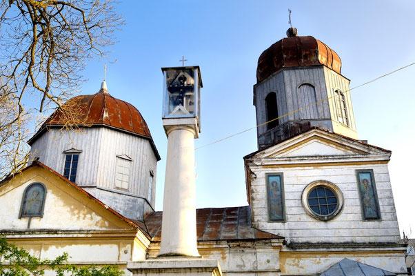 Sulina - Danube Delta- © François Struzik - simply human 2008 - Romania - orthodox church
