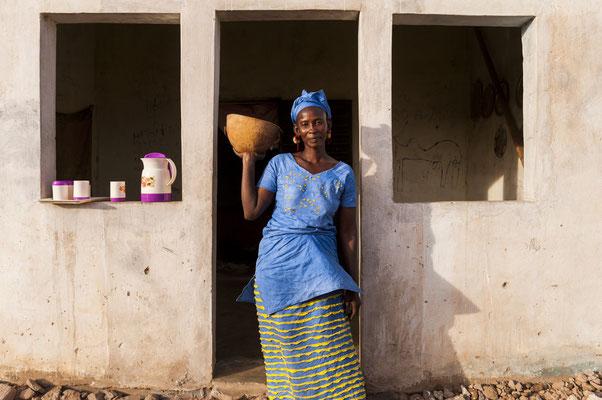 Dahra,  small scale milk producer SOS Faim - Djolof, Senegal © François Struzik - simply human 2017
