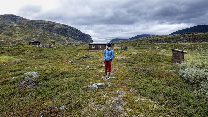 Kungsleden, Lapland, Sweden  © François Struzik - simply human 2018 - Singi stugorna