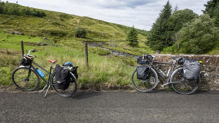 Cycling coast to coast - England, United Kingdom  © François Struzik - simply human 2018 - - Northumberland - Scottish Border
