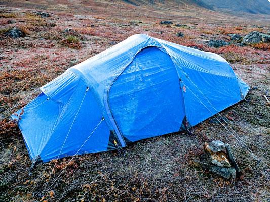 Hiking on Kungsleden- Lappland - Sweden - © François Struzik - simply human 2014 - Singi - Sälka - Fjällraven Abisko Lightweight
