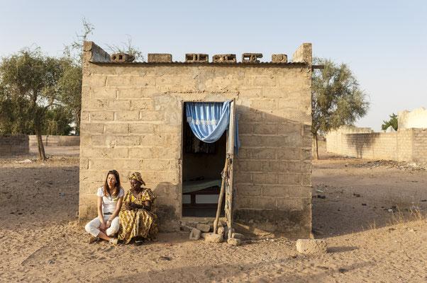 Joëlle Scoriels, ambassadrice SOS Faim, Dahra, Djolof - Senegal © François Struzik - simply human 2017