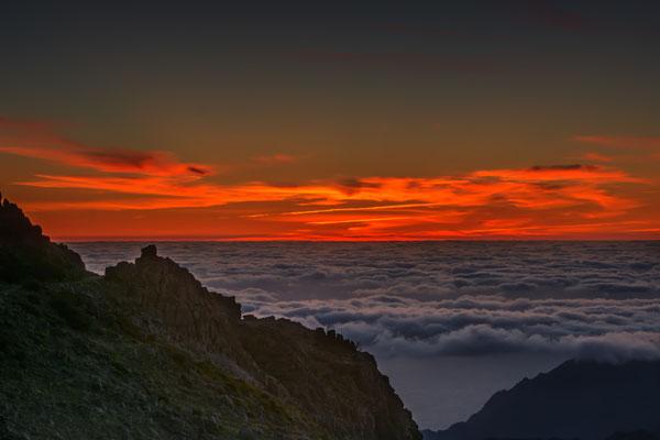 Früh Morgens auf dem Pico do Arieiro, Madeira