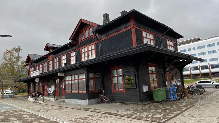 Bahnhofsgebäude von Gällivare