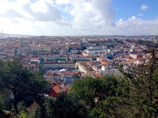 Top-Aussichtspunkt: Castelo Sao Jorge