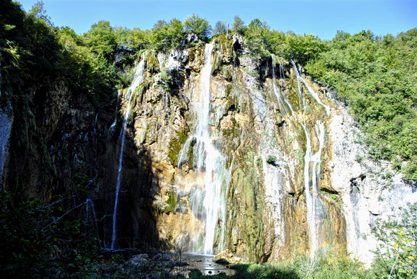 Wasserfall Nationalpark Plitvicer Seen