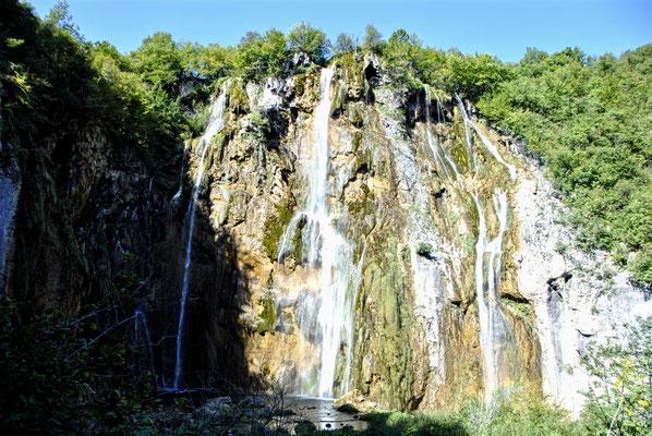 Wasserfall Nationalpark Plitvicer Seen