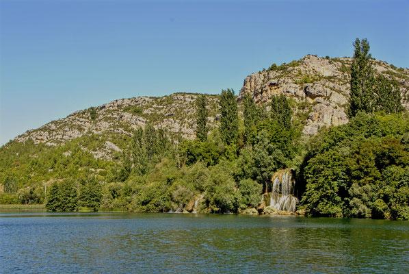 Wasserfall Nationalpark Krka Laškovica