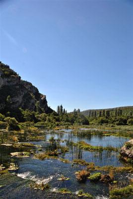 Wanderung Nationalpark Krka Laškovica
