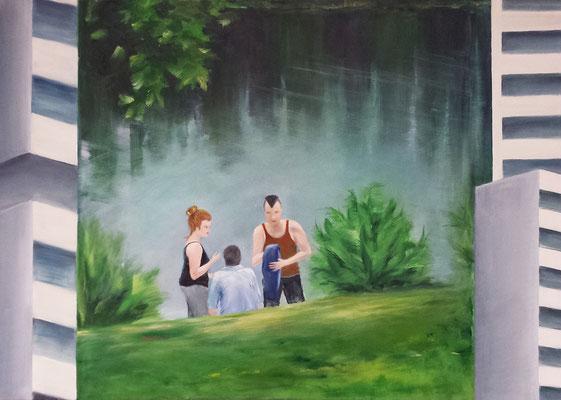 Freizeit am Grünen See in Ratingen
