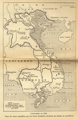 Carte Indochine