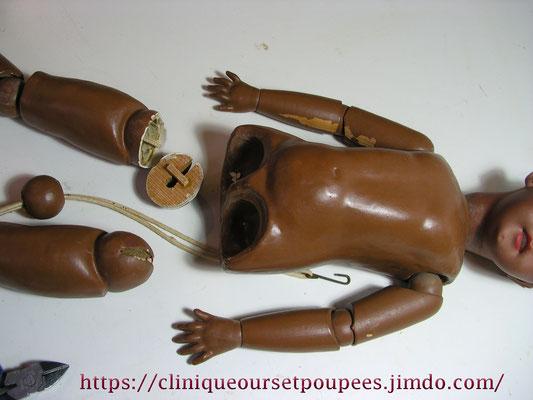réparation poupée Simon ancienne et Halbig