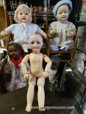 Petite poupée Simon & Halbig, restaurée