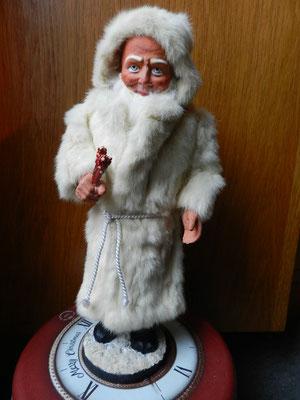 réparation boite à bombons ancienne Père Noël