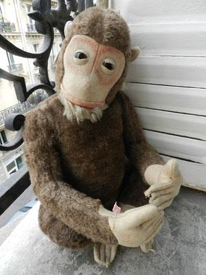 Réparation d'un singe FADAP en peluche
