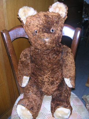 Restauration d'un ours en peluche