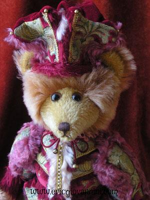 Le Chevalier Rouge, ours de création d'Eric Giovannini