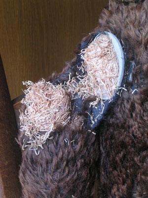 Réparer les articulations d'un ours en peluche