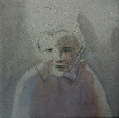 o.T., 80 cm x 52 cm, Tempera/LW, 2014