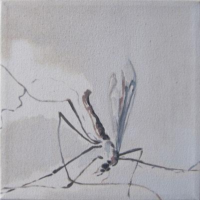 o.T. #1, 25 cm x 25 cm, Tempera/LW, 2010