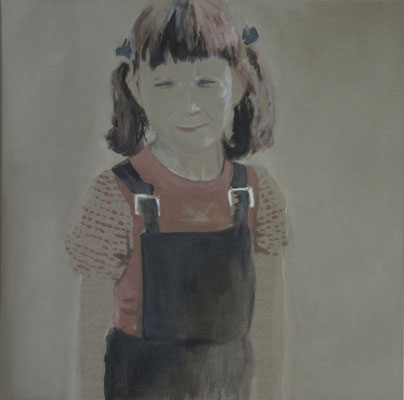 o.T., 100 cm x 100 cm, Tempera/LW, 2008