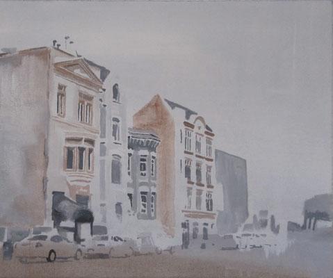 o.T., 50 cm x 60 cm, Tempera/Öl/LW, 2011