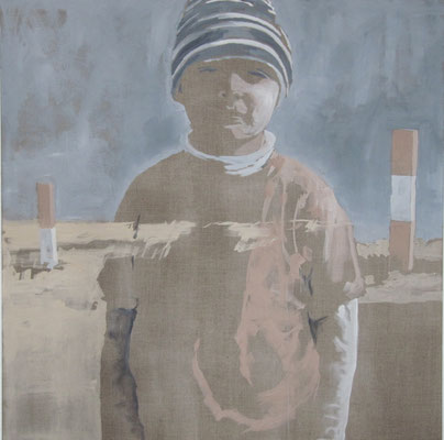 son, 100 cm x 100 cm, Tempera/LW, 2012