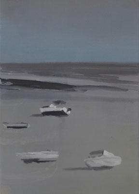 o.T., 35 cm x 25 cm, Tempera/Öl/LW, 2017