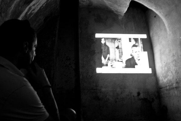 17 di 38 - La sala Video (Cisterna del Duomo)
