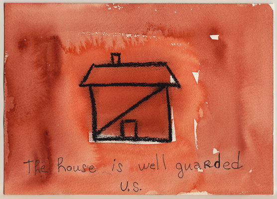 Errances #057, Weel-guarded, 2015, 23 x 17 cm. - 9 x 6.5 inches.