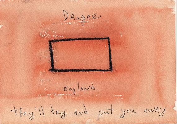 Errances #056, Put you away, 2015, 23 x 17 cm. - 9 x 6.5 inches.