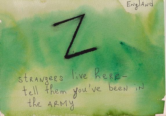 Errances #049, Strangers, 2015, 23 x 17 cm. - 9 x 6.5 inches.