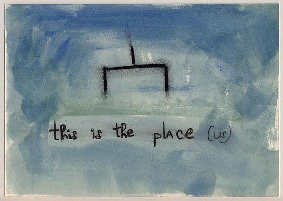 Errances #081, The Place, 2015, 23 x 17 cm. - 9 x 6.5 inches.