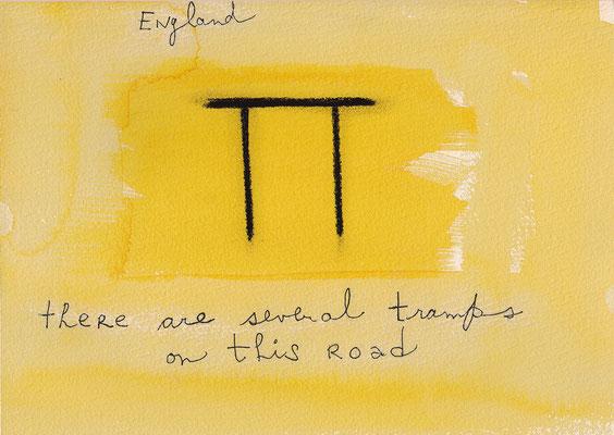 Errances #032, Tramps, 2015, 23 x 17 cm. - 9 x 6.5 inches.