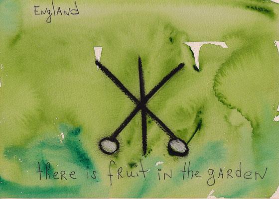 Errances #051, Garden, 2015, 23 x 17 cm. - 9 x 6.5 inches.