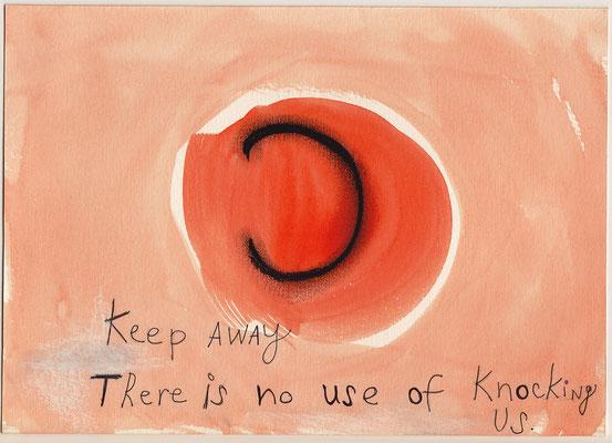Errances #069, Keep Away, 2015, 23 x 17 cm. - 9 x 6.5 inches.