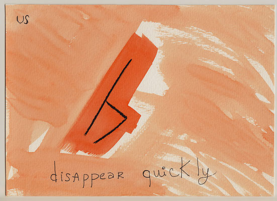 Errances #068, Disappear, 2014, 23 x 17 cm. - 9 x 6.5 inches.