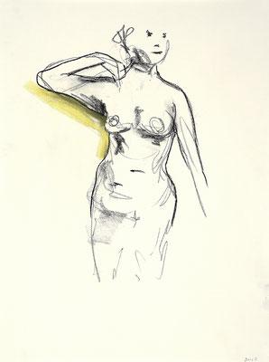 2013, #13, fusain sur papier - Charcoal on paper
