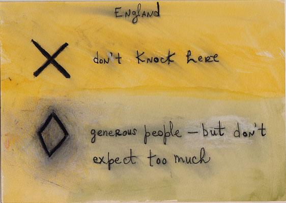 Errances #098, England, 2015, 23 x 17 cm. - 9 x 6.5 inches.