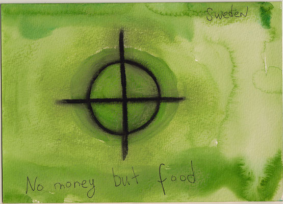 Errances #012, Money, 2014, 23 x 17 cm. - 9 x 6.5 inches.