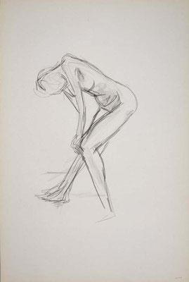 1999, #34, fusain sur papier, 61 x 91 cm. - Charcoal on paper, 24 x 36