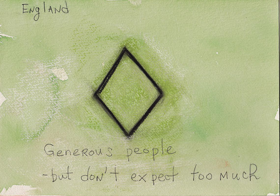 Errances #006, Generous, 2014, 23 x 17 cm. - 9 x 6.5 inches.