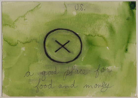 Errances #041, Good place, 2014, 23 x 17 cm. - 9 x 6.5 inches.