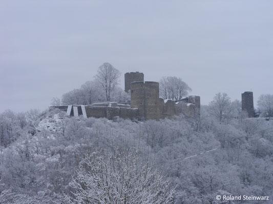 Burg Blankenberg im Winter