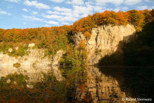 Herbstlicher Dornheckensee